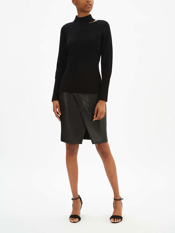 Vita Merino Turtle Neck Knit