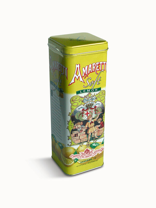 Amaretti Lemon Tin