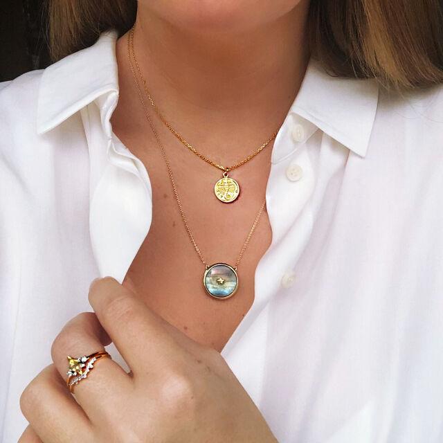 Night Sky Pendant Necklace