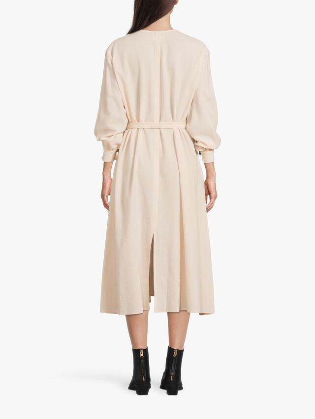 Batavia Wool V Neck Dress