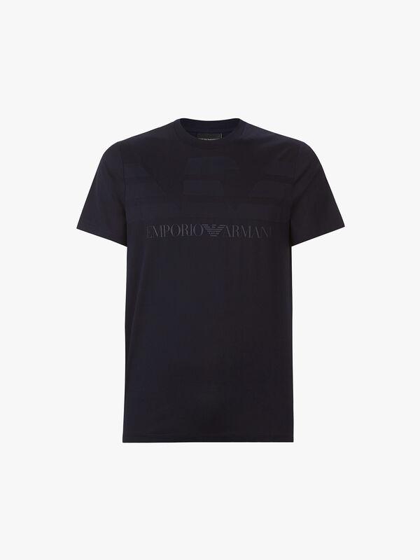 Texture Logo T-Shirt