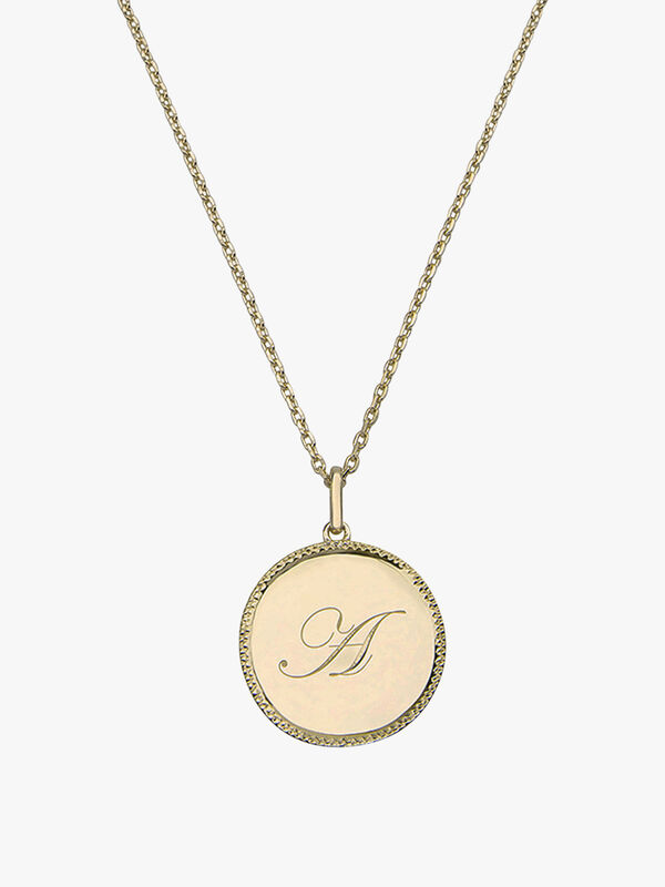 Echo Gold Necklace
