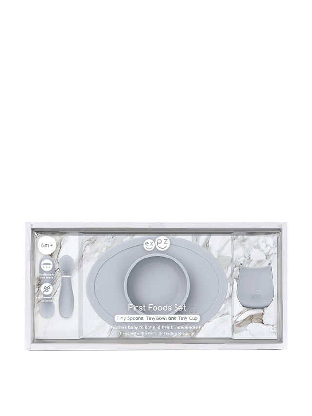First Food Set Pewter Tiny