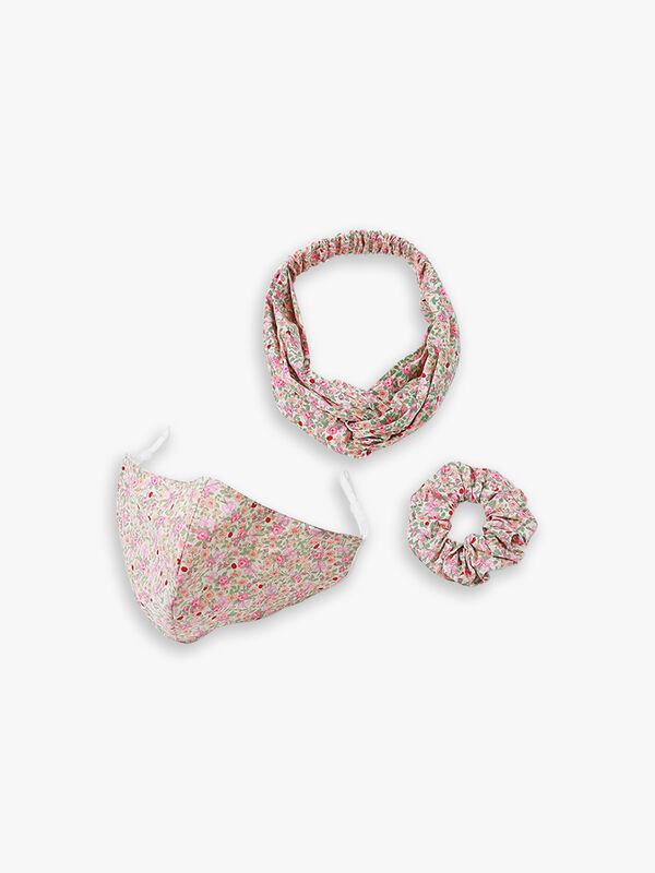Mask & Hair Accessories Set
