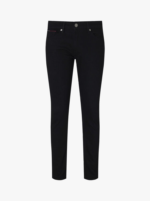 Stretch Slim Fit Cotton Denim Trousers