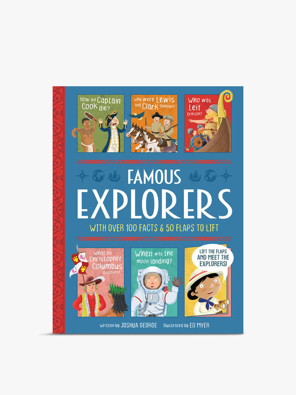 Famous Explorers Lift The Flap