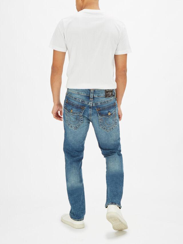 Rocco Back Pocket Flap Jeans