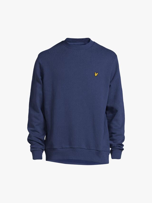 Washed Crew Neck Sweatshirt