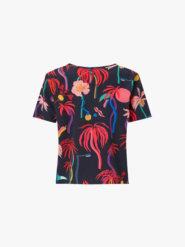 Urban Jungle Short Sleeve Top