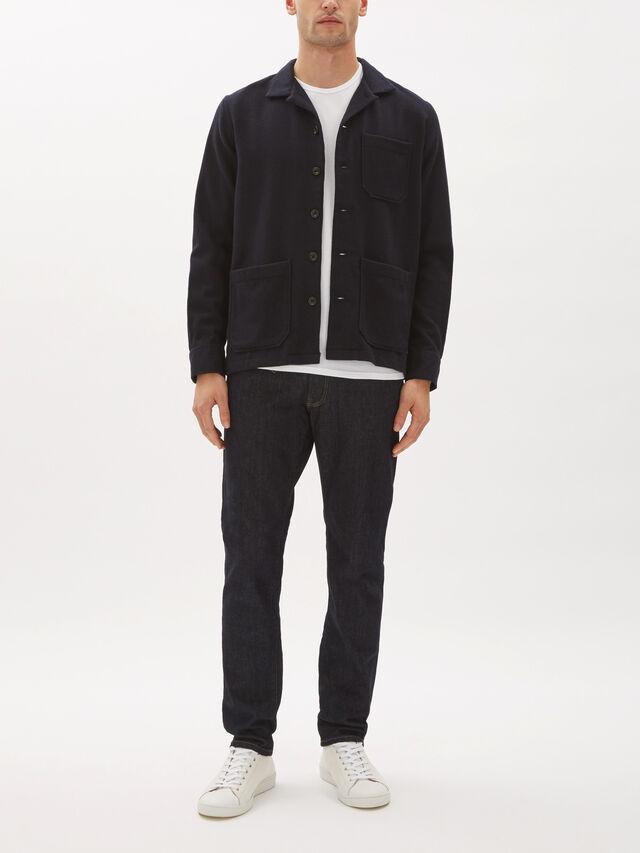Parker Wool Overshirt