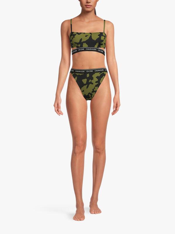 CK One Bralette Bikini Top