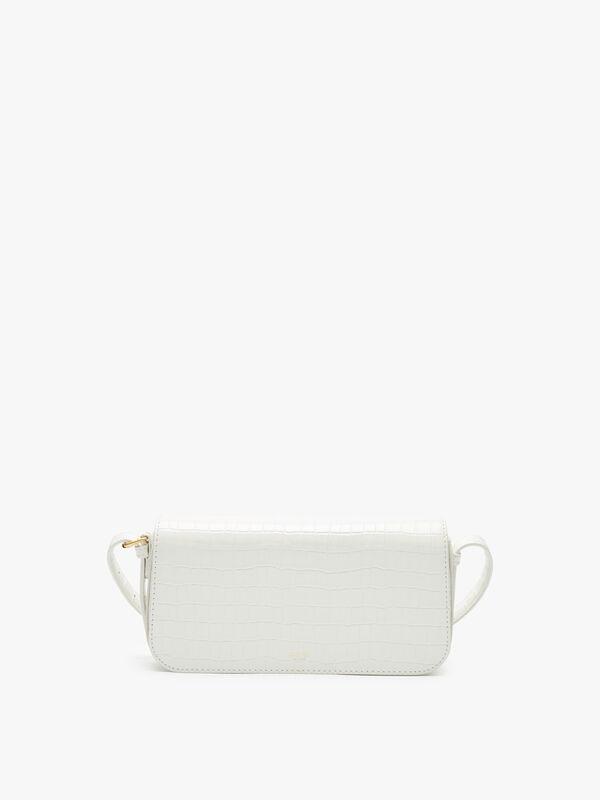 Muse Texture Baguette Bag