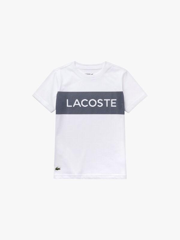 Sport Lettering Jersey Tennis T-Shirt