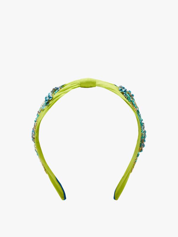 Embroidered Side Headband