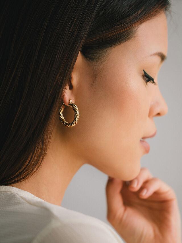 Jessie Hoop Earrings