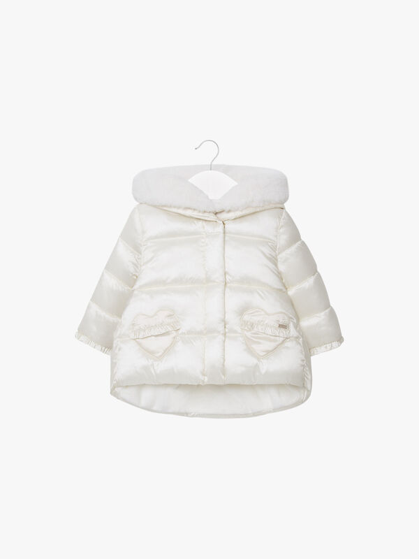 Aline Hooded Hearts Jacket
