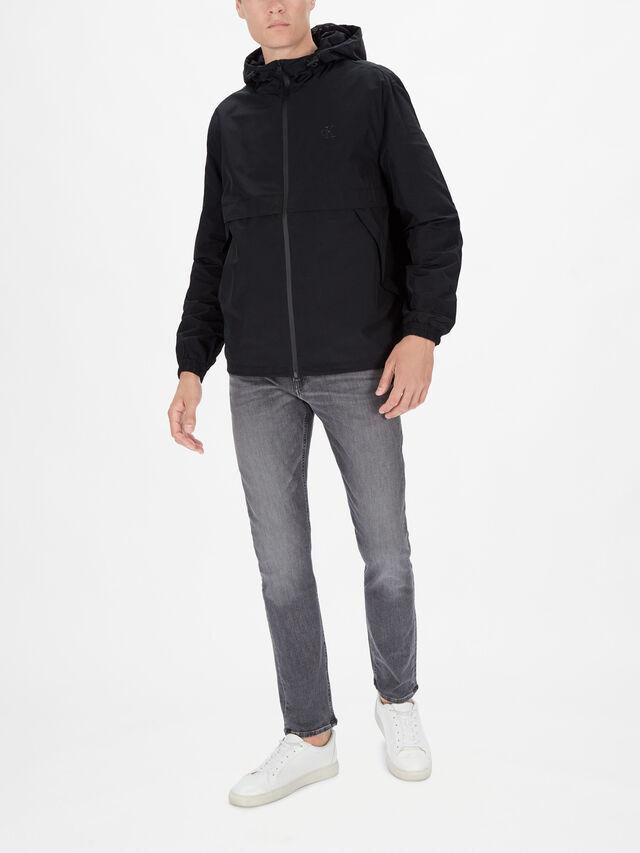 Logo Zip Through Jacket