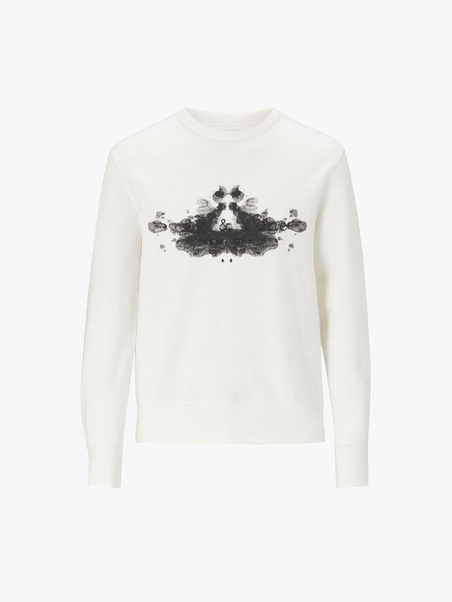 Rorschach Finger Print Sweatshirt