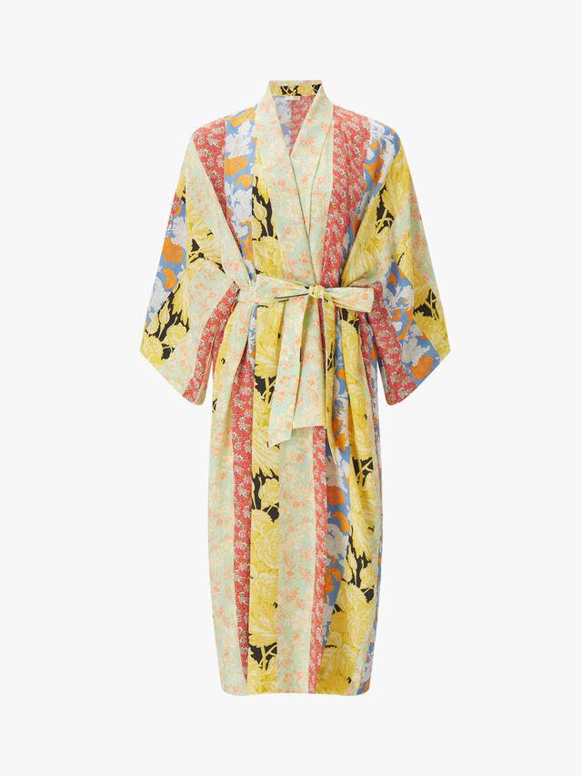 Kimono Floral Dress