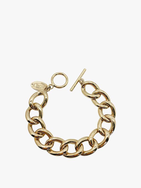 Vintage Monet Chunky Curb Link Bracelet