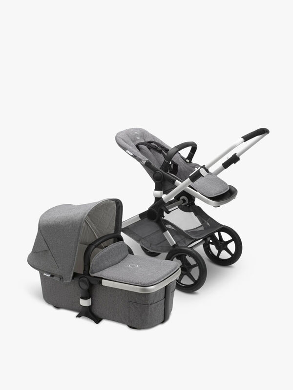 Fox 2 Seat and Carrycot Pushchair
