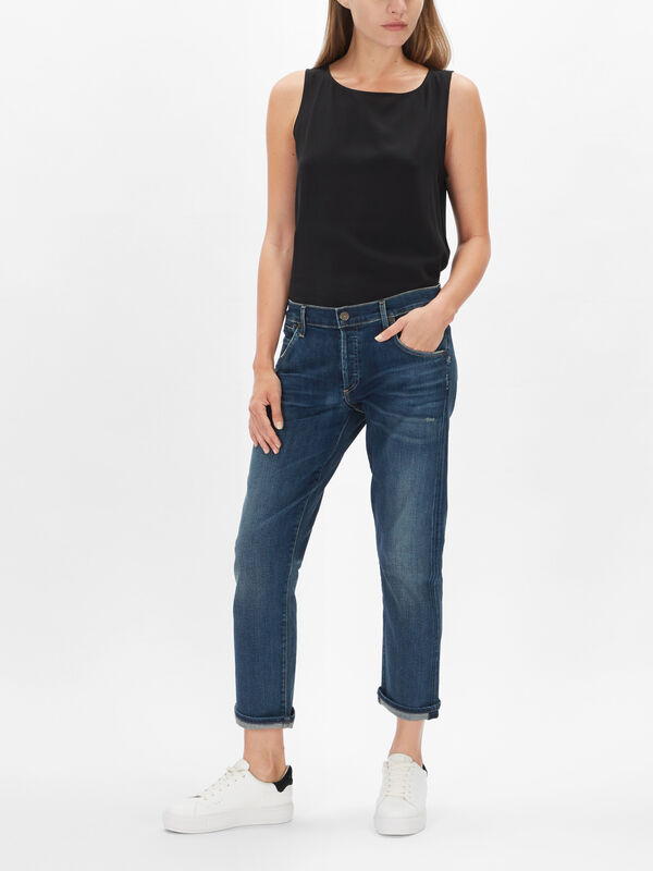 Emerson Slim Fit Boyfriend Jeans