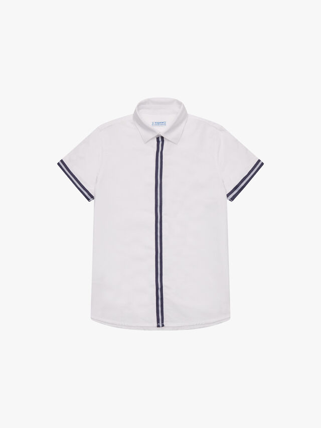 Shirt with Stripe Detail