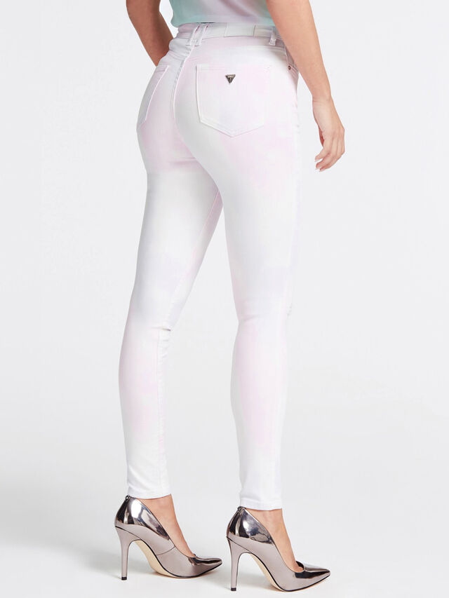 High Rise Skinny Ankle Crop Jeans