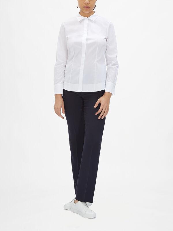 Crisp Cotton Shirt