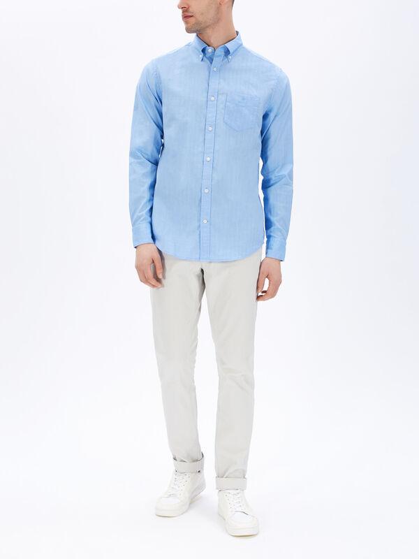Regular Herringbone Shirt