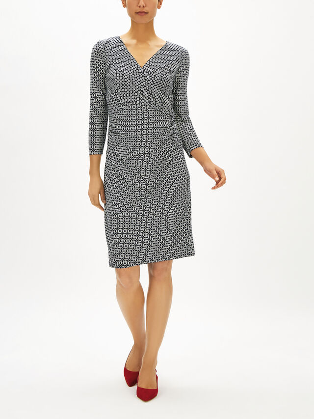 Tiana 3/4 Sleeve Day Dress