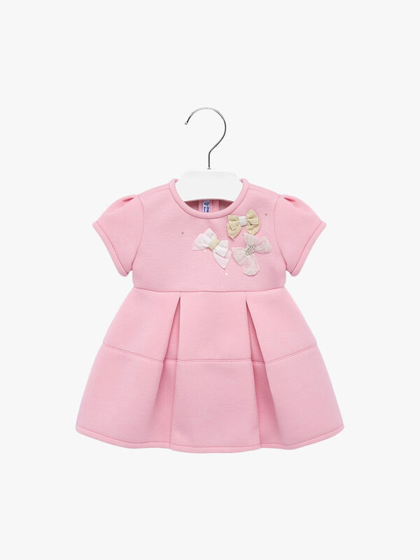 Applique Bow Dress