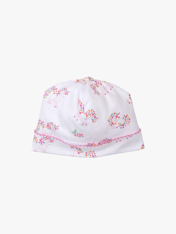 Unicorn Garden Print Hat