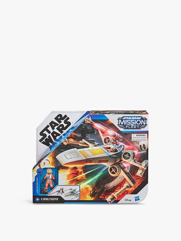 Star Wars Mission Fleet Stellar Class Luke Skywalker X-wing Fighter