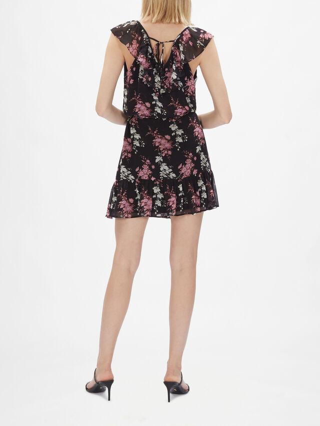 Alesia Short Sleeve Mini Dress