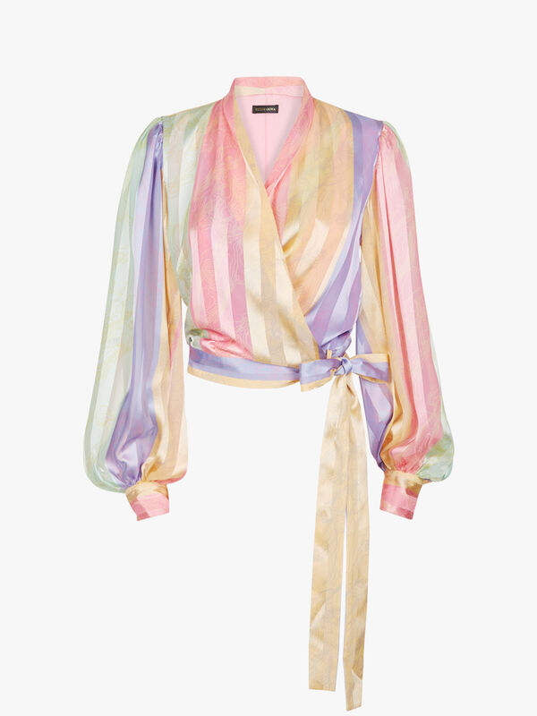 Glenda Rainbow Blouse