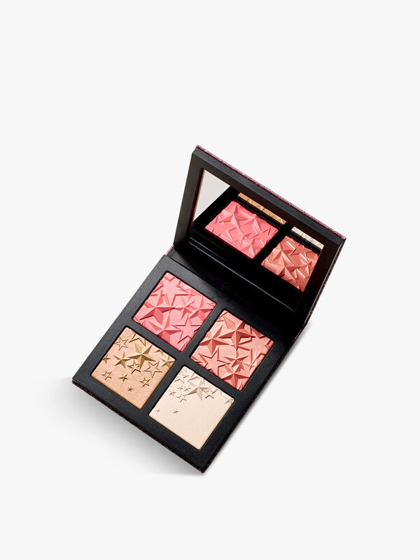 Star-Dipped Face Compact