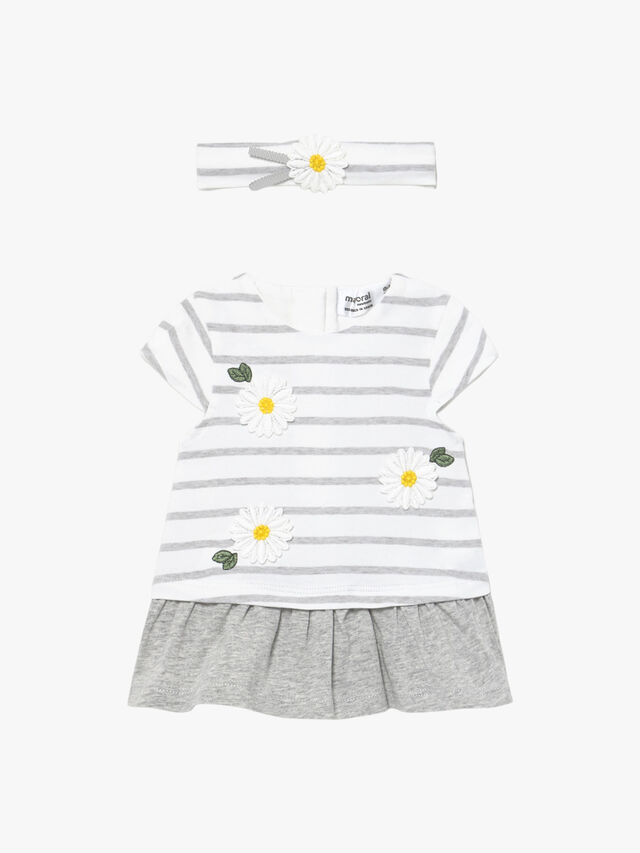 Daisy & Stripe Dress