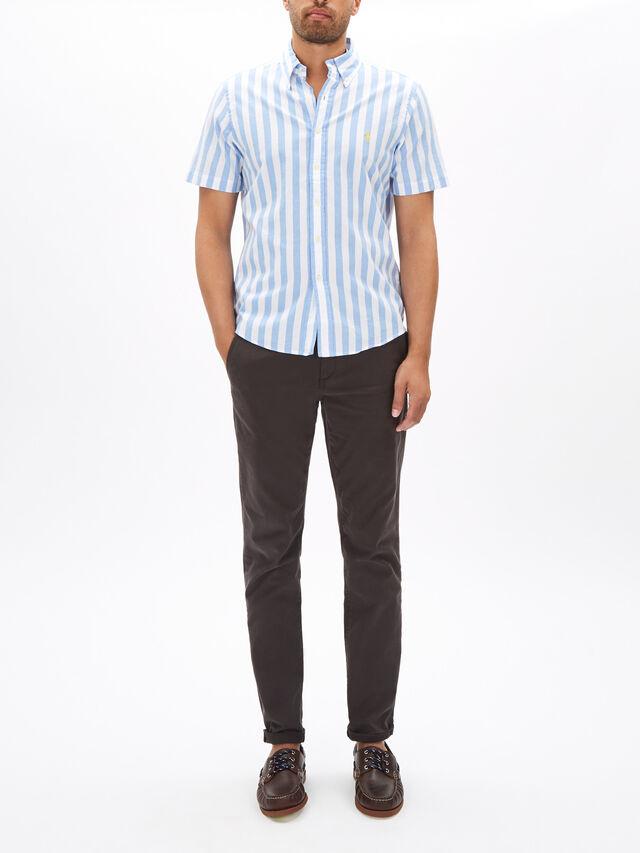 Custom Fit Striped Shirt