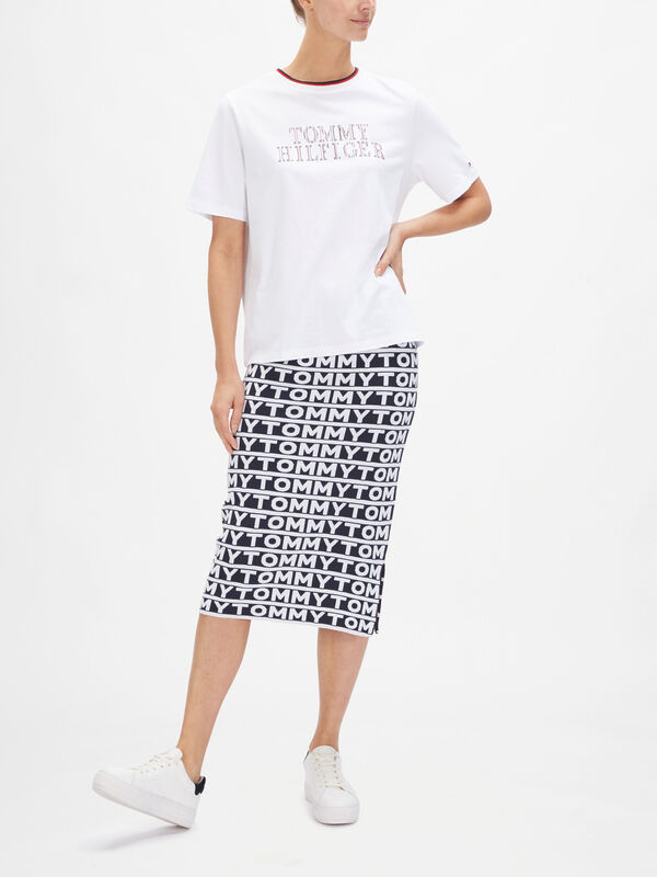 Carly Relaxed Crew Neck Short Sleeve Top