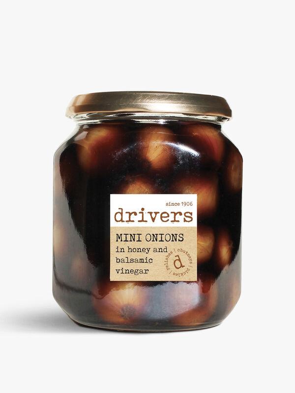 Mini Onions In Honey And Balsamic Vinegar 550g