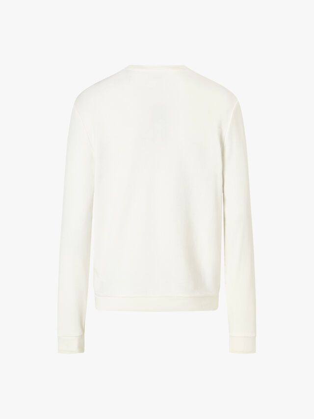 Printed Panel Sweatshirt