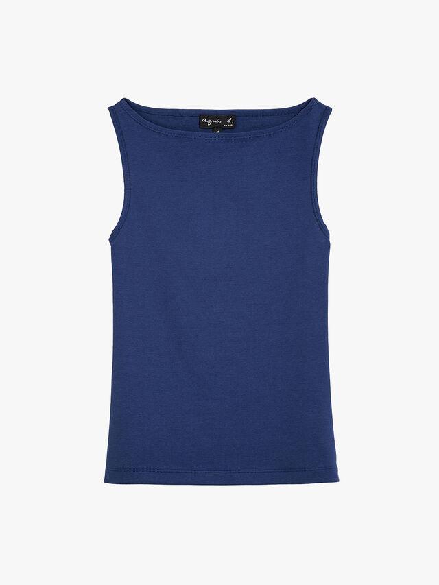 sleeveless leopard t shirt