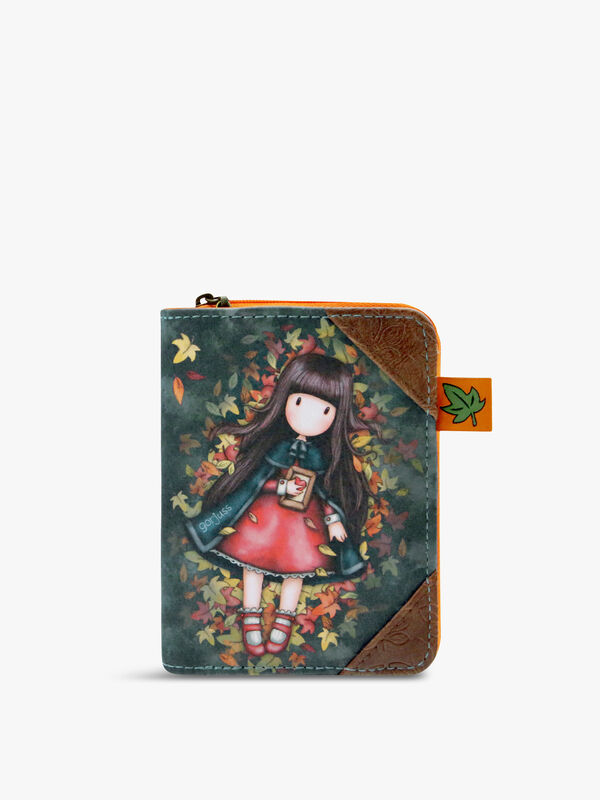 Gorjuss Wallet Autumn Leaves