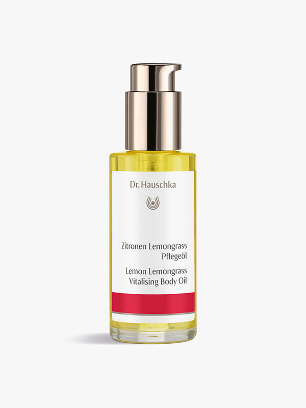 Lemon Lemongrass Vitalising Body Oil