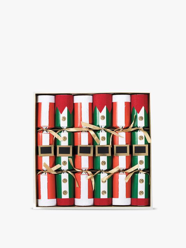 Elf Costume Crackers Box of 6