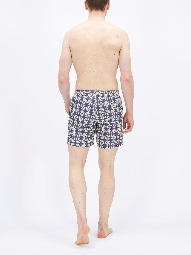 Fan Print Swim Shorts