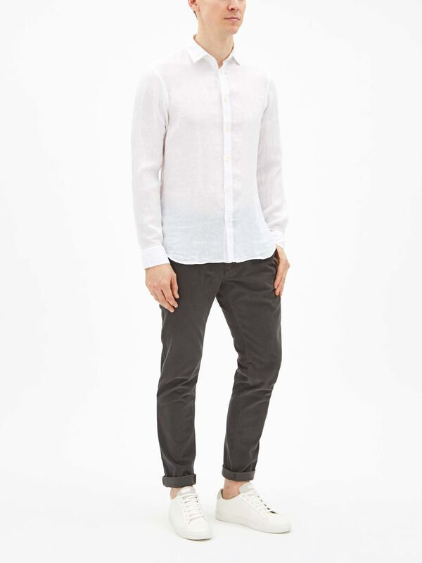 Slim Sammy Linen Shirt