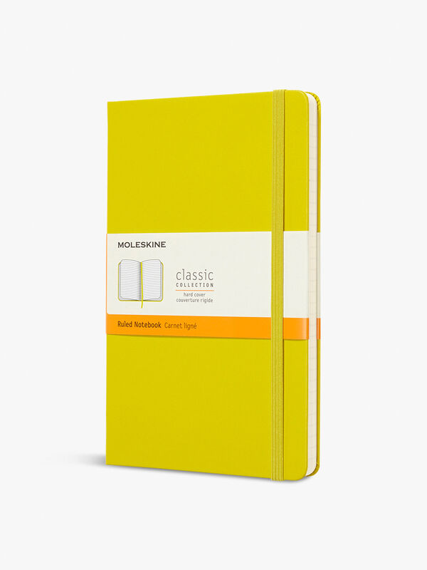 Large Classic Notebook Ruled Hard Cover