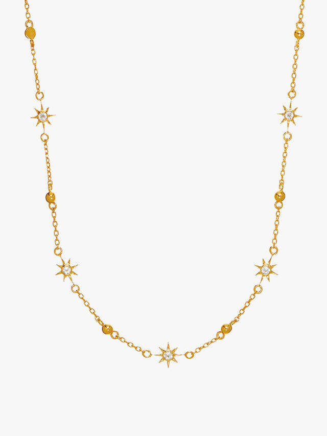 Dainty Star Chain Necklace